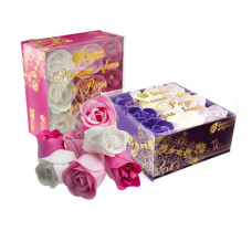 """Мыльные цветы """"Розы"""" в коробке 9 шт."""