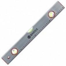 Уровень Bartex ал,  3-хгл+пов линейка серебристый