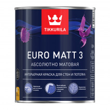 Euro Matt 3 - Евро Матт 3 интерьерная краска для стен и потолка