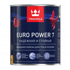 Euro Power 7 - Евро Пауэр 7 моющаяся краска для стен и потолка