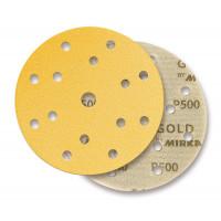 Круг абразивный MIRKA GOLD 150 mm. 15 отверстий