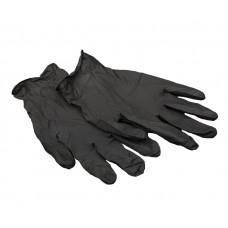 Перчатки нитриловые, без латекса РН, цв. черный XL