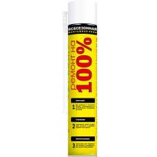 Пена монтажная всесезонная, 600 ml