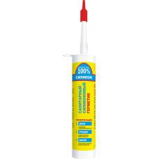 Герметик силиконовый санитарный, белый, 260 ml